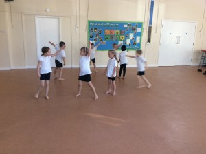 We have been learning how to dance.