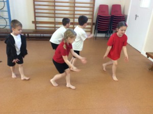 We created movements based upon the changing seasons.