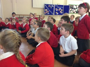 The children have been lucky enough to work with rhubarb theatre this week.