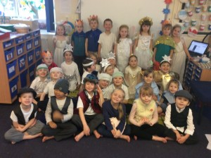 We really enjoyed putting on the Christmas play. Thank you to everyone who helped with costumes and came to watch us.